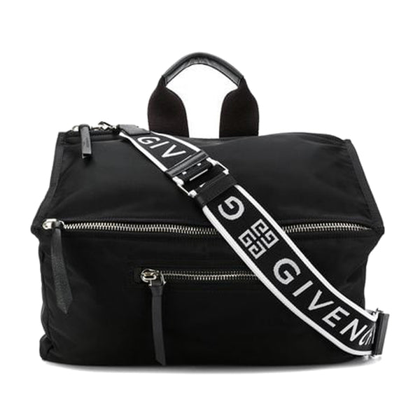 Black Givenchy Pandora Nylon Crossbody Bag