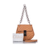 Brown Chloe Mini Drew Bijou Crossbody Bag