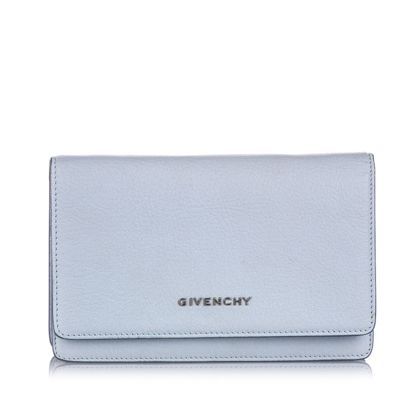 Blue Givenchy Pandora Wallet on Chain