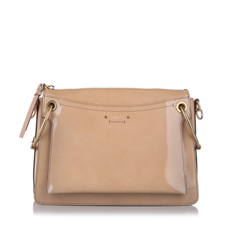 Tan Chloe Roy Leather Satchel Bag