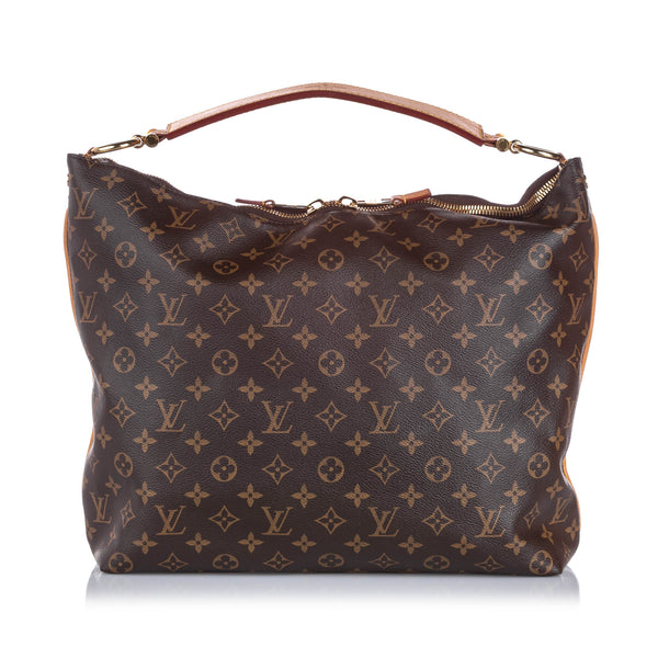 Brown Louis Vuitton Monogram Sully MM Bag