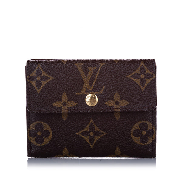 Brown Louis Vuitton Monogram Portefeuille Elise Wallet