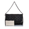 Black Stella McCartney Quilted Falabella Baguette