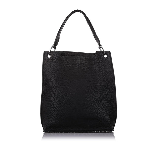 Black Alexander Wang Darcy Leather Tote Bag