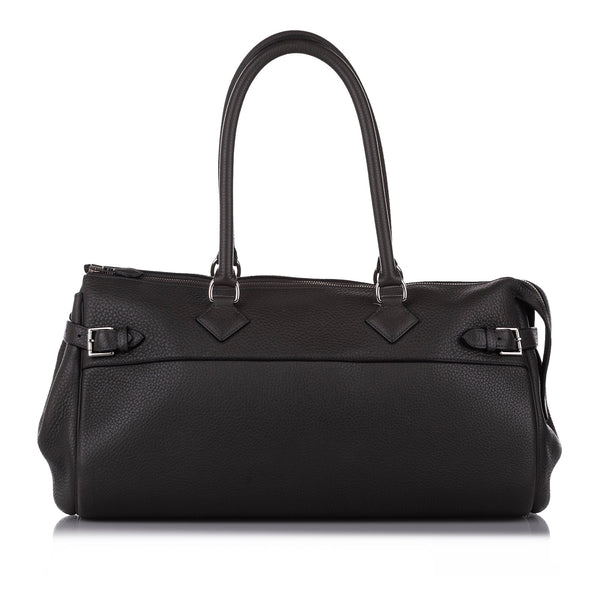 Black Hermes Clemence Atlas 42 Bag