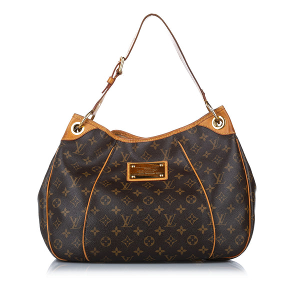 Brown Louis Vuitton Monogram Galliera PM Bag