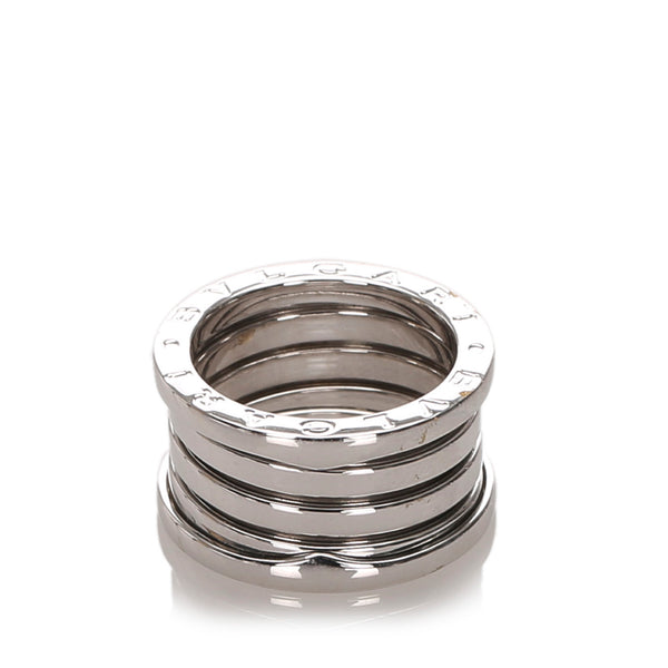 Silver Bvlgari B.zero1 Two Band Ring