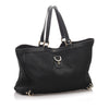 Black Gucci GG Canvas Abbey-D Ring Tote Bag