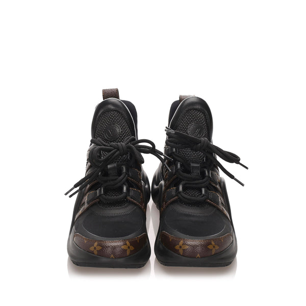 Black Louis Vuitton Archlight Sneakers
