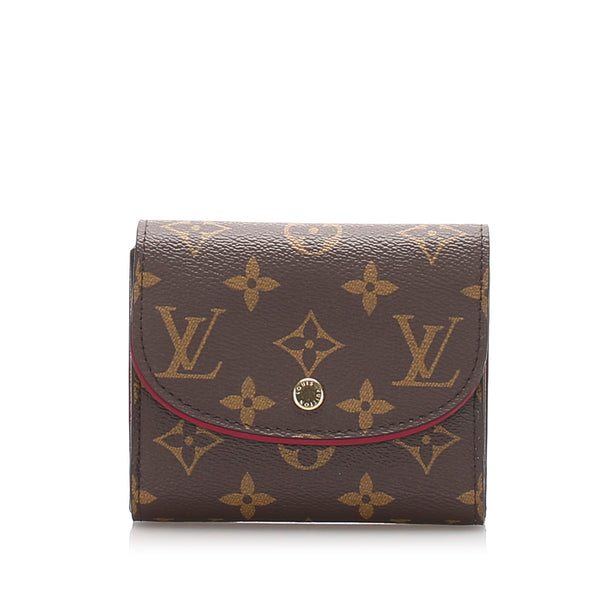 Brown Louis Vuitton Monogram Ariane Compact Wallet