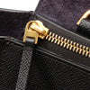 Black Celine Mini Belt Leather Satchel Bag