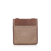 Brown Ferragamo Gancini Canvas Crossbody Bag