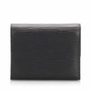 Black Louis Vuitton Epi Porte Monnaie Billets Tresor Wallet
