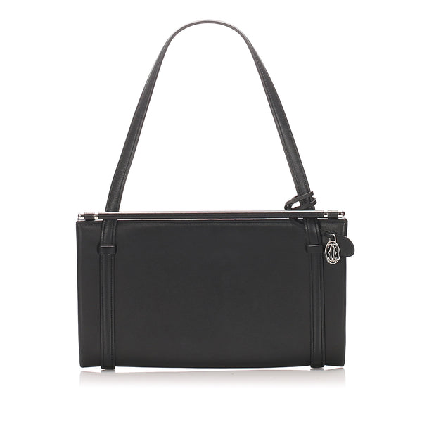 Black Cartier Leather Handbag Bag