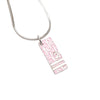 Pink Dior Dior Oblique Pendant Necklace