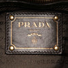 Black Prada Canapa Tessuto Satchel Bag