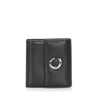 Black Cartier Panthere Leather Wallet