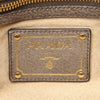Brown Prada Leather Chain Shoulder Bag