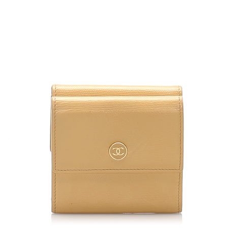 Brown Chanel Leather Small Wallet