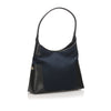 Black Ferragamo Nylon Shoulder Bag