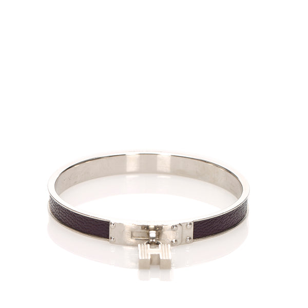 Silver Hermes Kelly Bangle