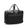 Black Loewe Anagram Leather Travel Bag