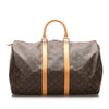 Brown Louis Vuitton Monogram Keepall 45 Bag