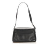 Black Ferragamo Leather Shoulder Bag