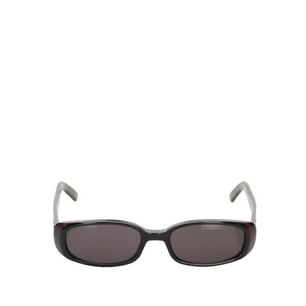 Black Gucci Round Tinted Sunglasses