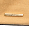 Tan Gucci Canvas Shoulder Bag