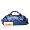 Blue Loewe Brisa Leather Handbag Bag