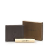 Brown Loewe Anagram Leather Small Wallet