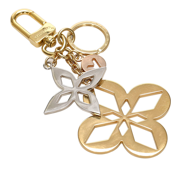 Gold Louis Vuitton Monogram Key Chain