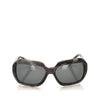 Gray Chanel Round Tinted Sunglasses