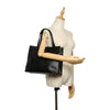 Black Ferragamo Vara Leather Handbag Bag