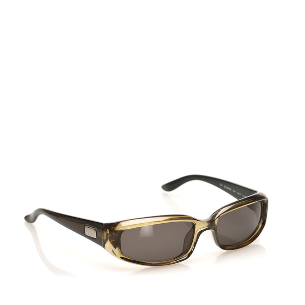 Brown Gucci Round Tinted Sunglasses