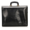 Black Loewe Leather Business Bag