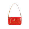 Red Louis Vuitton Vernis Mallory Bag