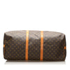 Brown Louis Vuitton Monogram Keepall Bandouliere 60 Bag