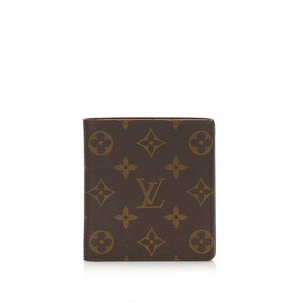 Brown Louis Vuitton Monogram Coin Pouch