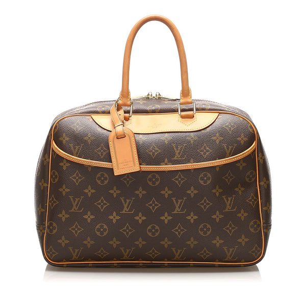 Brown Louis Vuitton Monogram Deauville Bag