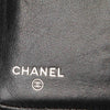 Black Chanel CC Patent Leather Long Wallet
