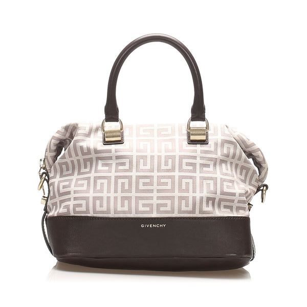 Gray Givenchy Canvas Handbag Bag