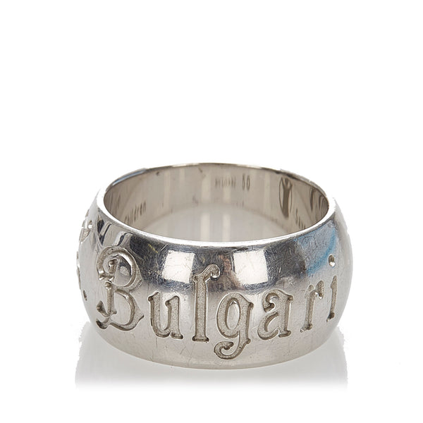 Silver Bvlgari Save The Children Ring