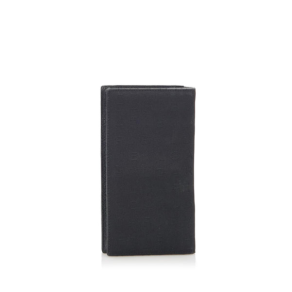 Black Bvlgari Nylon Wallet