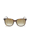 Brown Gucci Square Tinted Sunglasses