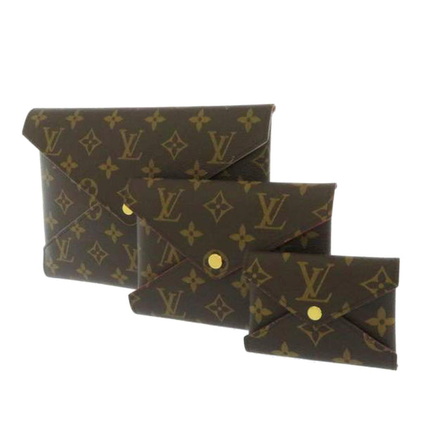 Brown Louis Vuitton Monogram Kirigami Pochette Set