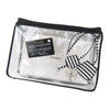 Black Chanel Caviar CC Filigree Vanity Case Bag