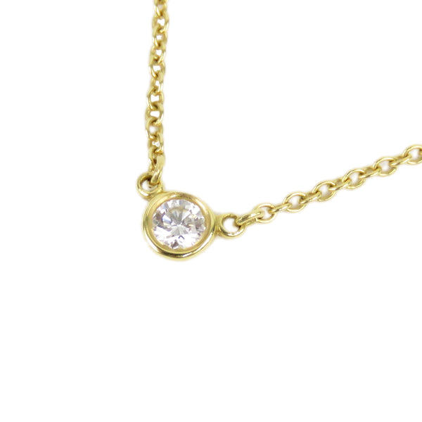 Gold Tiffany Diamonds By The Yard Necklace