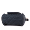 Blue Burberry Quilted Nylon Crossbody Bag